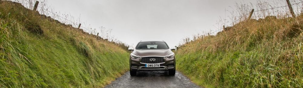 CONQUER WINTER IN THE INFINITI QX30