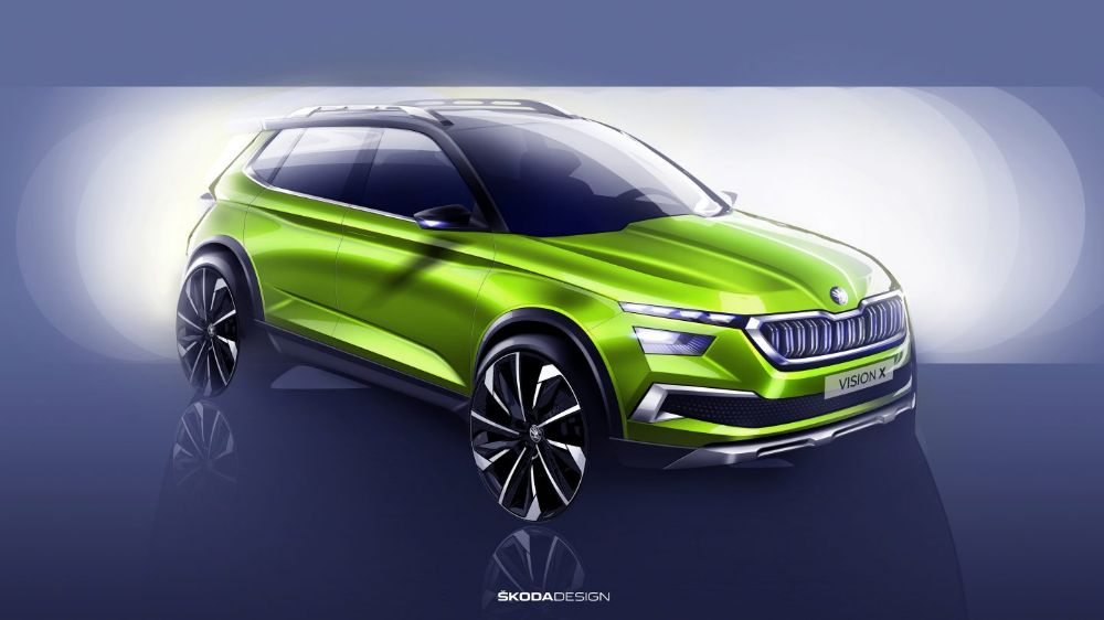ŠKODA INTRODUCES URBAN CROSSOVER VISION X