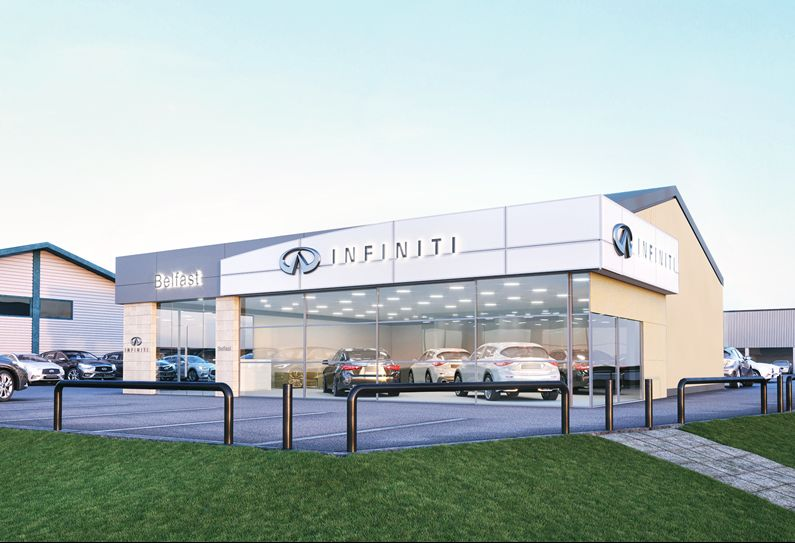New Infiniti Centre Belfast will open Late Spring 2017