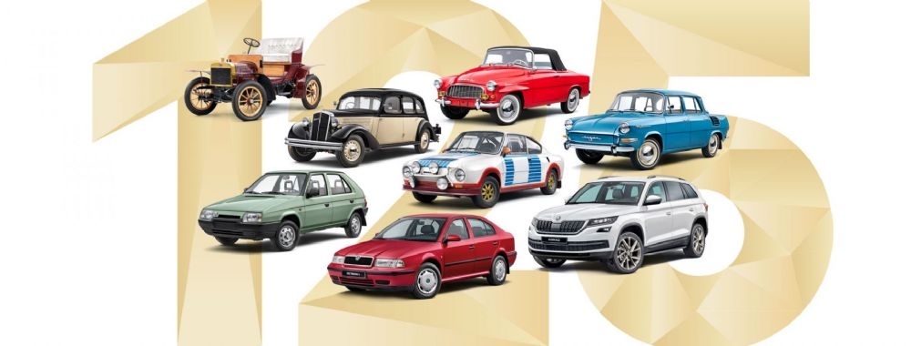 125 YEARS OF ŠKODA: ICONIC CARS