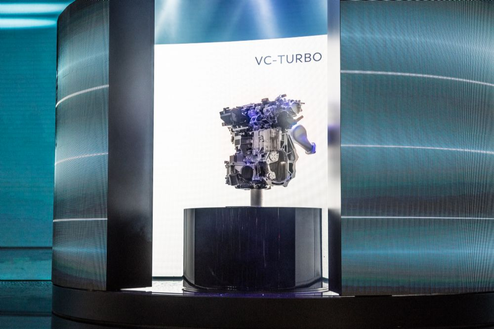 INFINITI VC-TURBO: THE WORLD'S FIRST PRODUCTION-READY VARIABLE COMPRESSION RATIO ENGINE