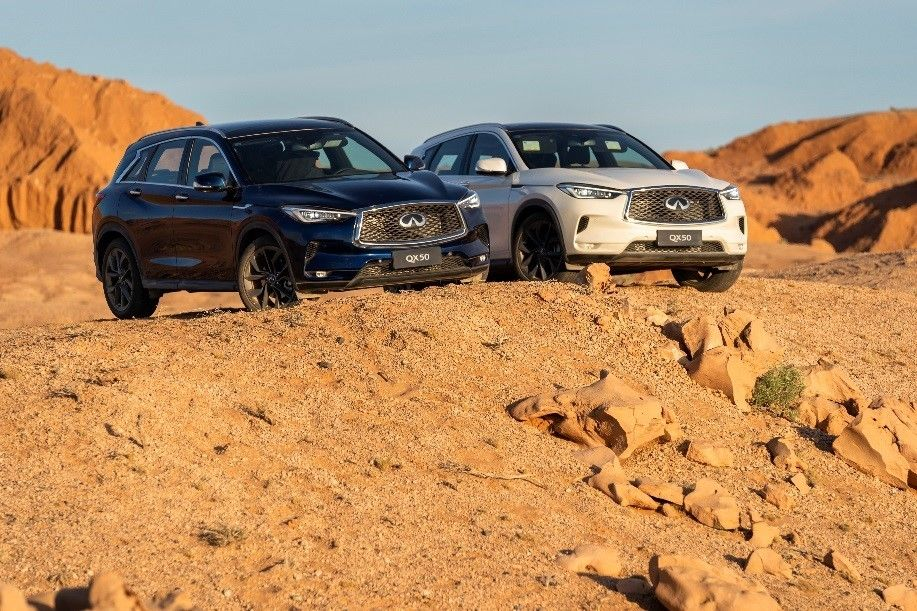 INFINITI AND EXPLORERS CLUB RE-WRITE RULES OF EXPLORATION REVISIT HISTORIC DINOSAUR EXPEDITION IN GOBI DESERT