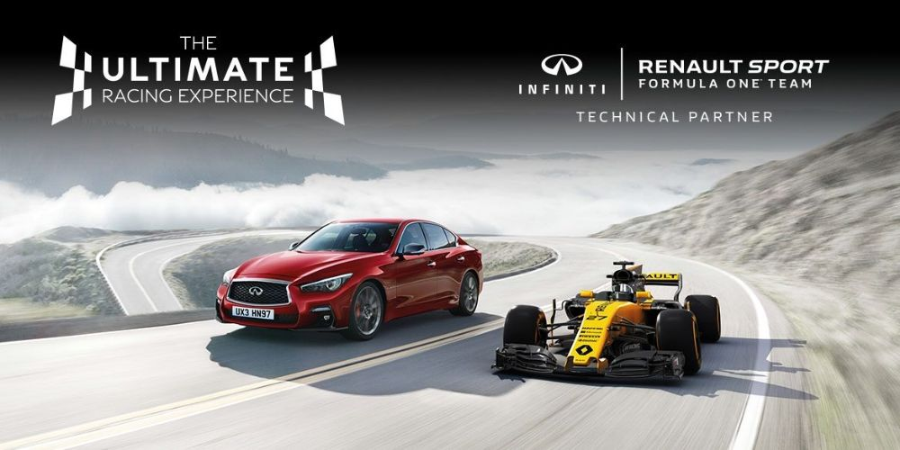 THE ULTIMATE F1 TEST DRIVE FROM INFINITI
