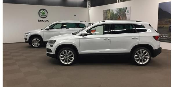 All-new Karoq on show online at SKODA Live Tour