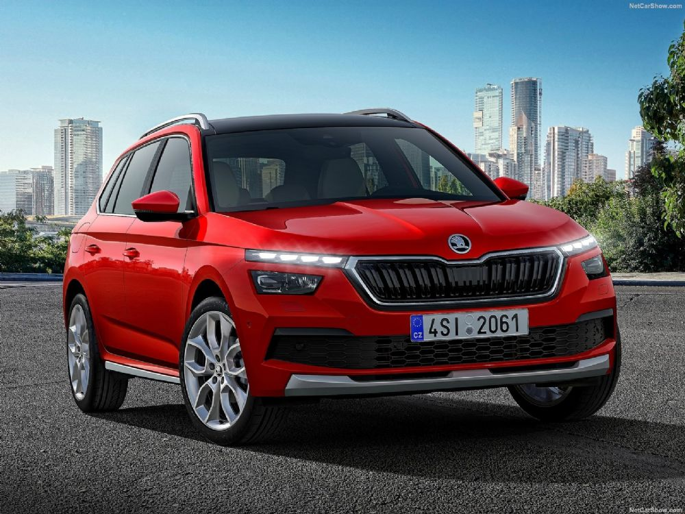 SKODA KAMIQ  -  The new city SUV