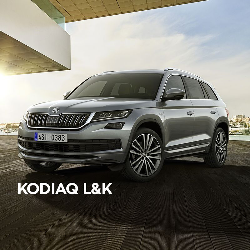 MEET THE SKODA KODIAQ LAURIN and KLEMENT