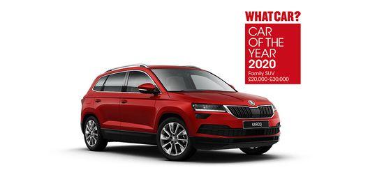 SKODA WHAT CAR? AWARDS 2020