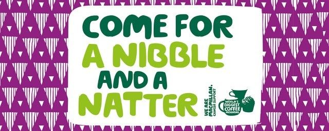 Come for a cuppa and a catch up in aid of Macmillan Cancer Support