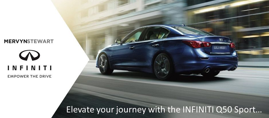 Empower the Drive with this fantastic offer on the INFINITI Q50 Sport