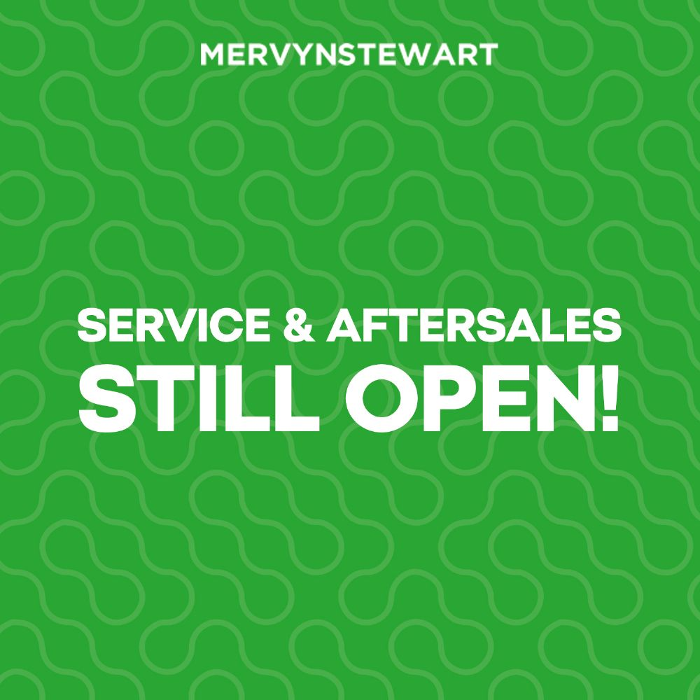 Service & Aftersales Open For Business