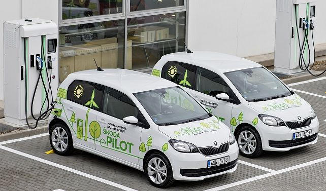 SKODA launches E-Mobility pilot project in the Czech Republic