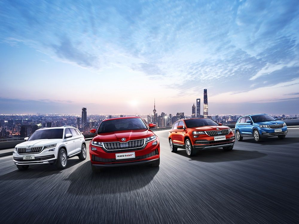 ŠKODA showcases visions of the future for China at Auto Shanghai 2019