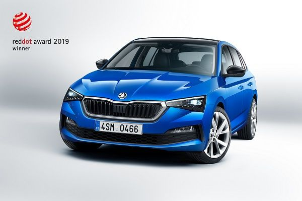 SKODA SCALA wins coveted Red Dot Award