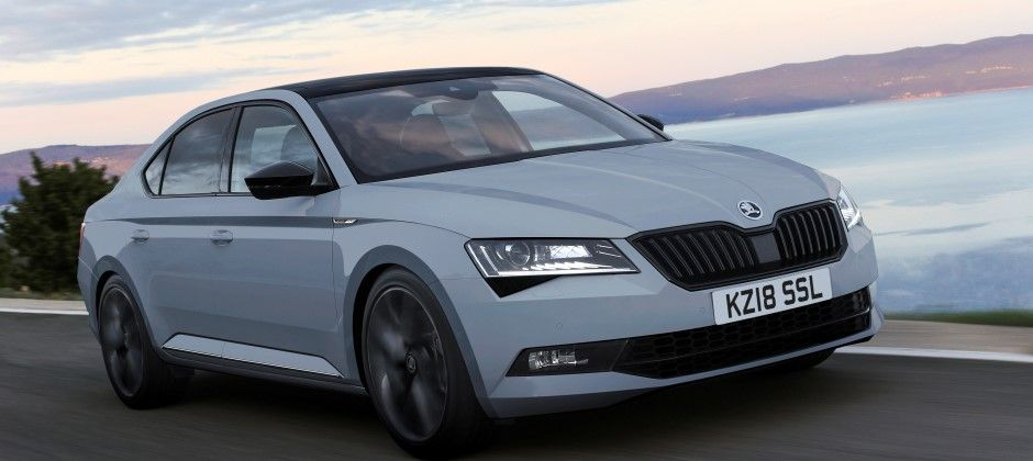 New SKODA SportLine Plus offers even more desirability for updated SUPERB range