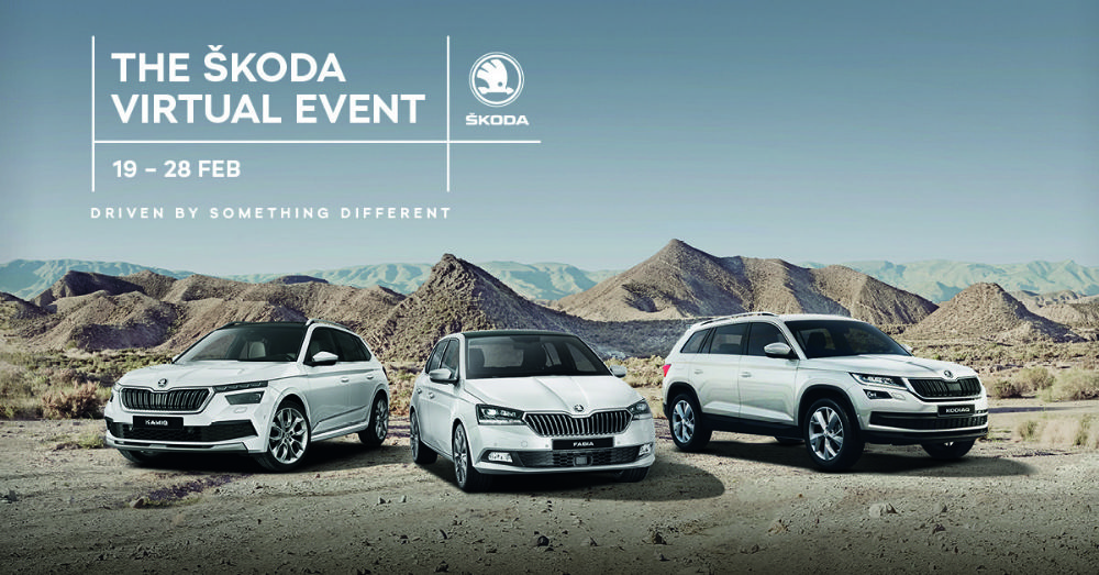 SKODA 0% Event valid from 19th-28th February