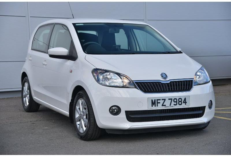 Skoda Citigo 1.0 MPI GREENTECH ELEGANCE 5 DOOR (HEATED SEATS SATNAV BLUETOOTH ALLOYS)