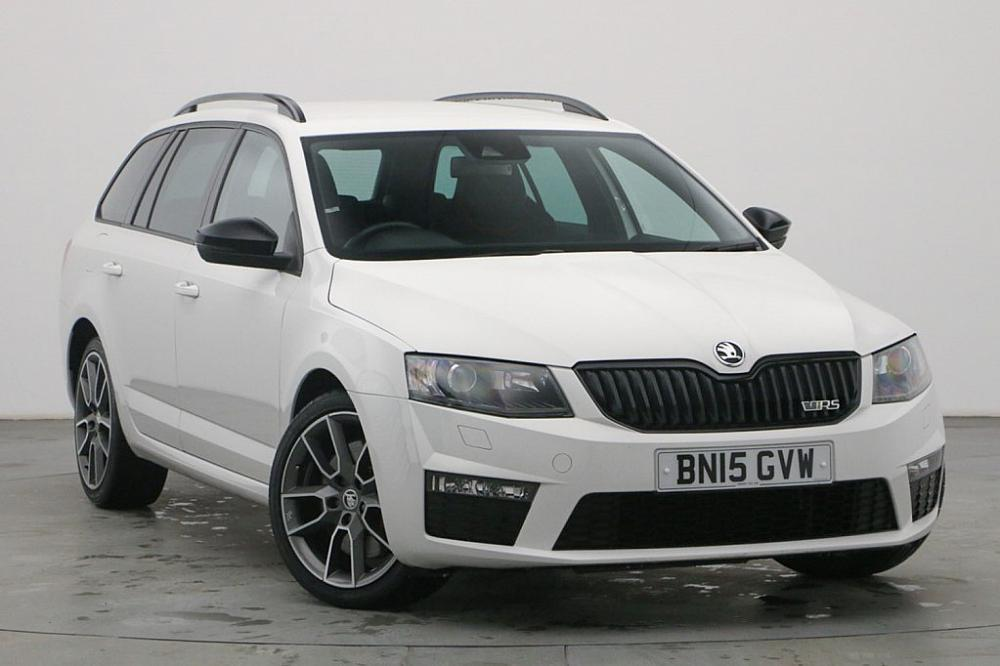 Skoda OCTAVIA ESTATE 5-DR 2.0 TDI CR vRS