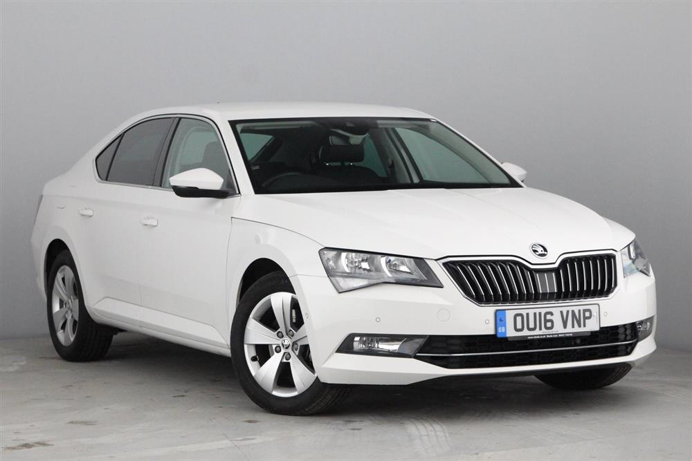 skoda superb hatchback 5 dr 1 6 tdi 120ps se business for sale at mervyn stewart used car. Black Bedroom Furniture Sets. Home Design Ideas