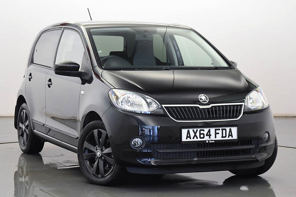 skoda citigo hatchback 5 dr 1 0 mpi 60ps black black edition for sale at mervyn stewart used. Black Bedroom Furniture Sets. Home Design Ideas