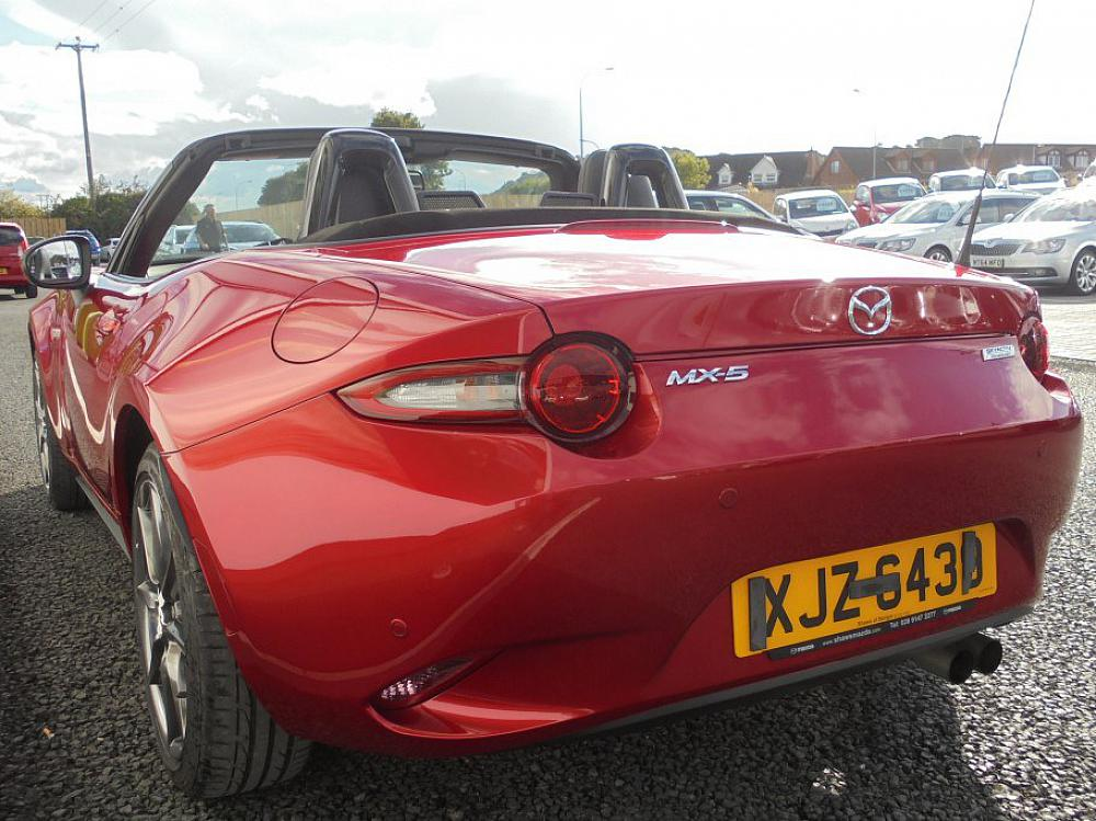 Mazda MX 5 CONVERTIBLE 2 DOOR 2.0 Sport For Sale At Mervyn Stewart, Used Car  Dealer Based In Belfast And North Down, Northern Ireland
