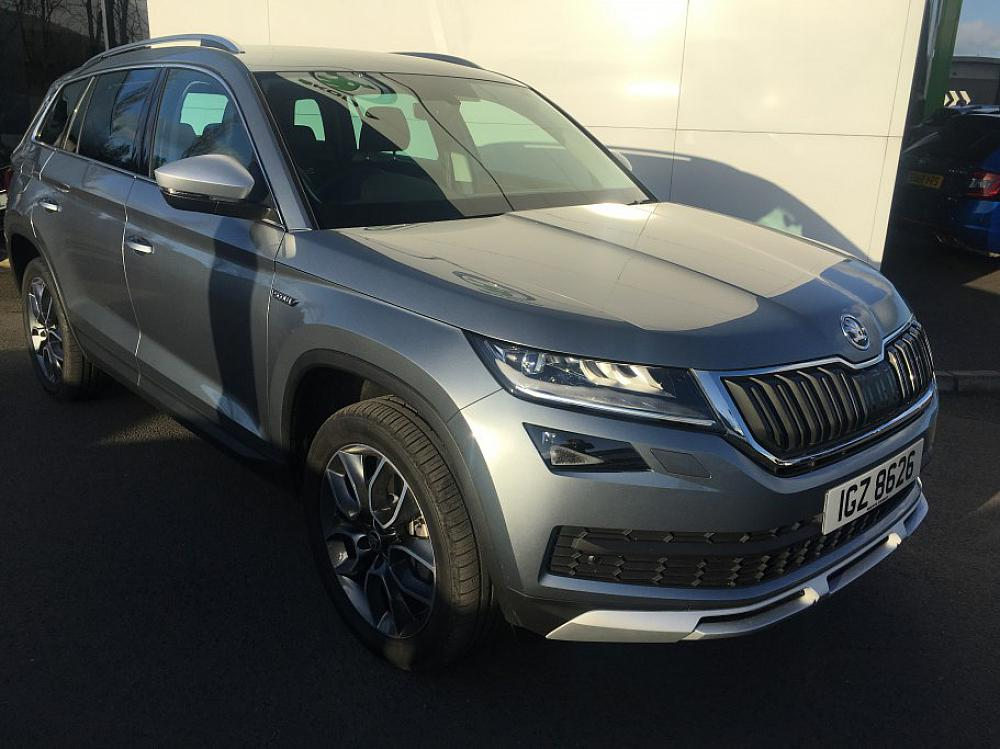Skoda Kodiaq 2 0 Tdi Scout 4x4 For Sale At Mervyn Stewart