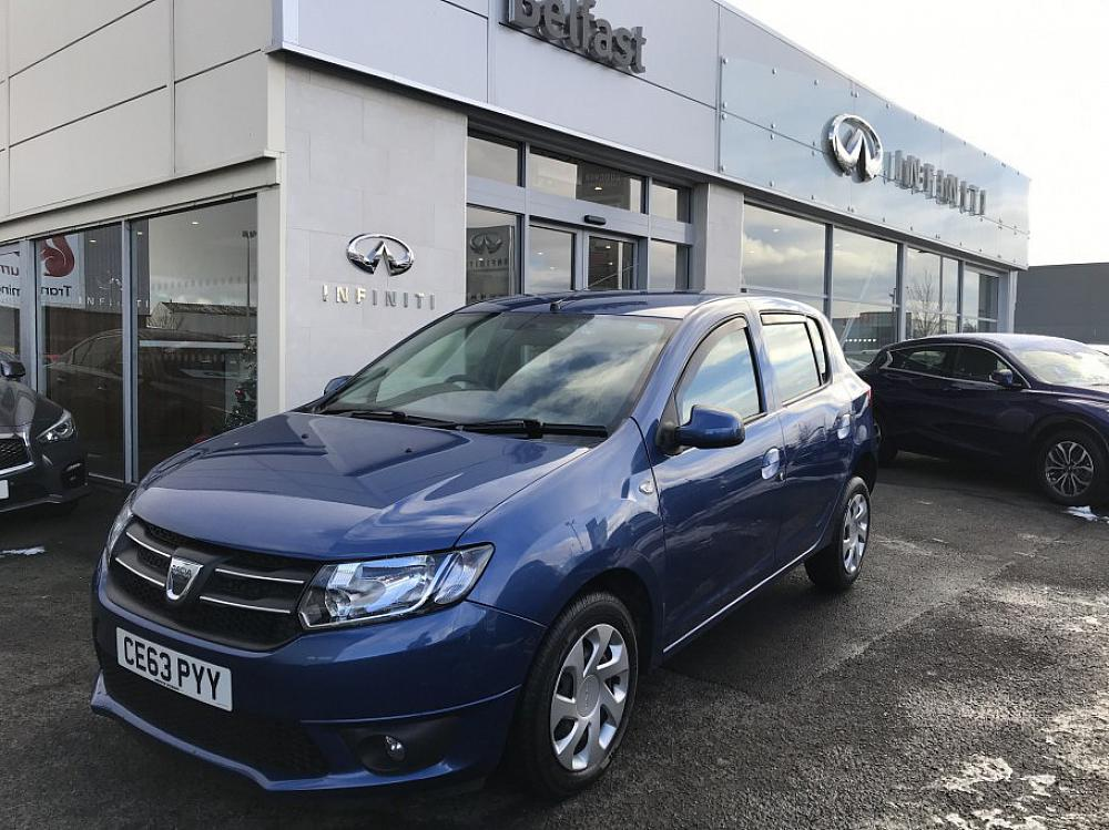 dacia sandero laureate dci for sale at mervyn stewart used car dealer based in belfast and. Black Bedroom Furniture Sets. Home Design Ideas