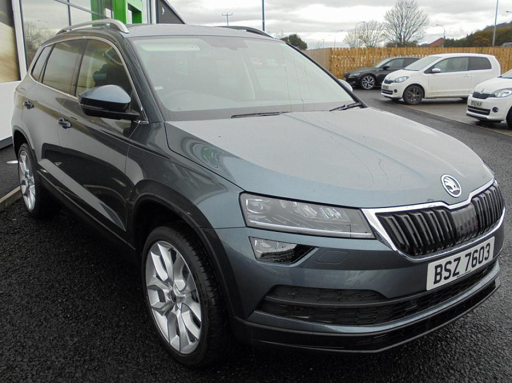 SKODA KAROQ SEL 1.5 TSI 150PS for sale at Mervyn Stewart ...