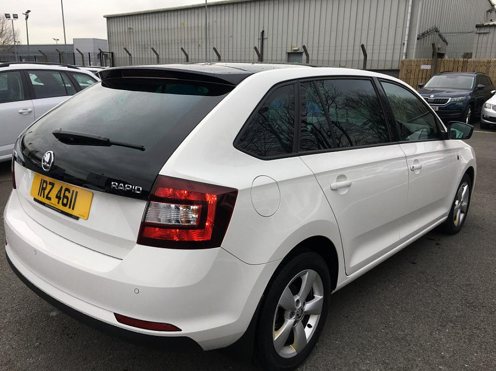 Skoda Rapid Spaceback 1 2 Tsi Se For Sale At Mervyn
