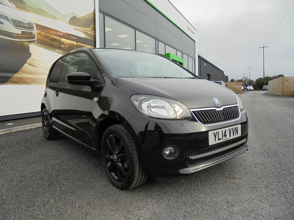 SKODA CITIGO BLACK EDITION 1.0 MPI