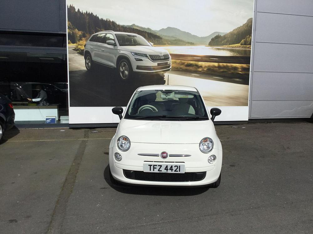 fiat 500 1 2 pop for sale at mervyn stewart used car dealer based in belfast and north down. Black Bedroom Furniture Sets. Home Design Ideas