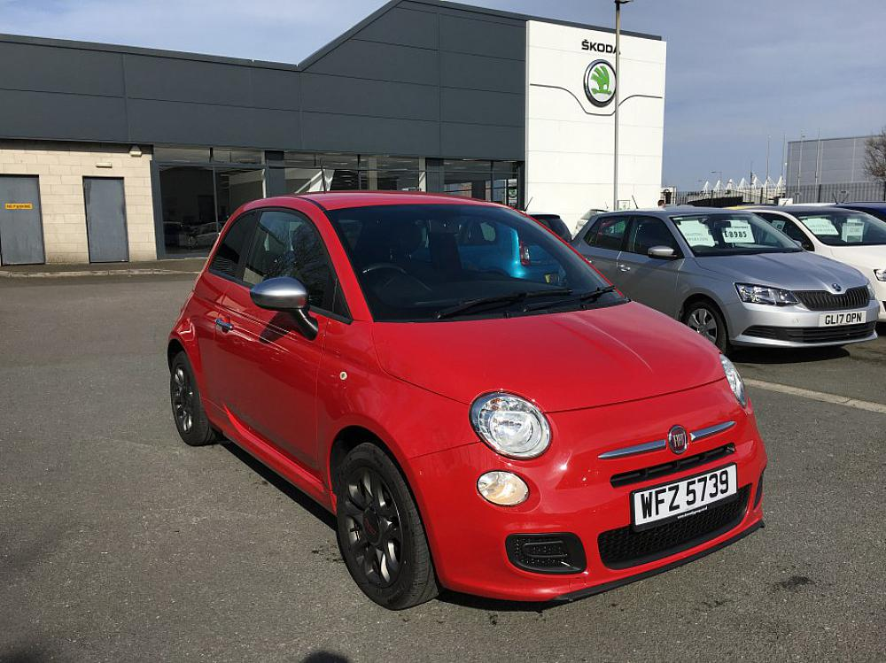 fiat 500 1 2 s for sale at mervyn stewart used car dealer based in belfast and north down. Black Bedroom Furniture Sets. Home Design Ideas