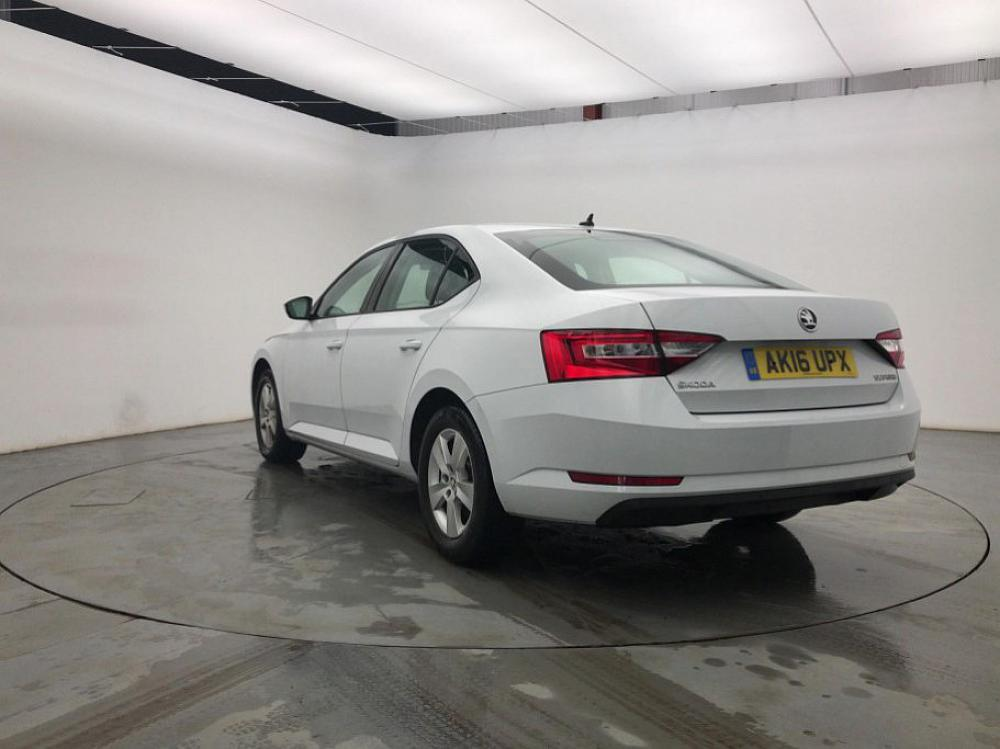 Skoda Superb S Tdi For Sale At Mervyn Stewart Used Car