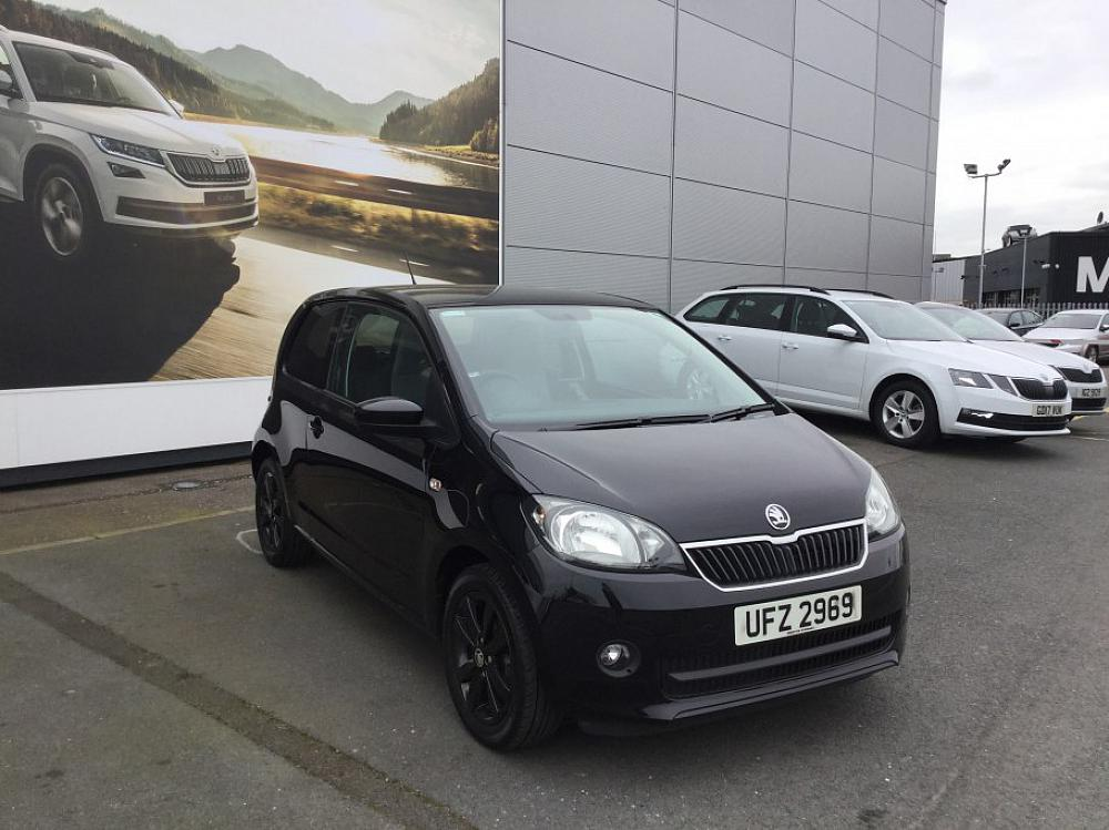 SKODA CITIGO 3 DOOR 1.0 MPI BLACK EDITION