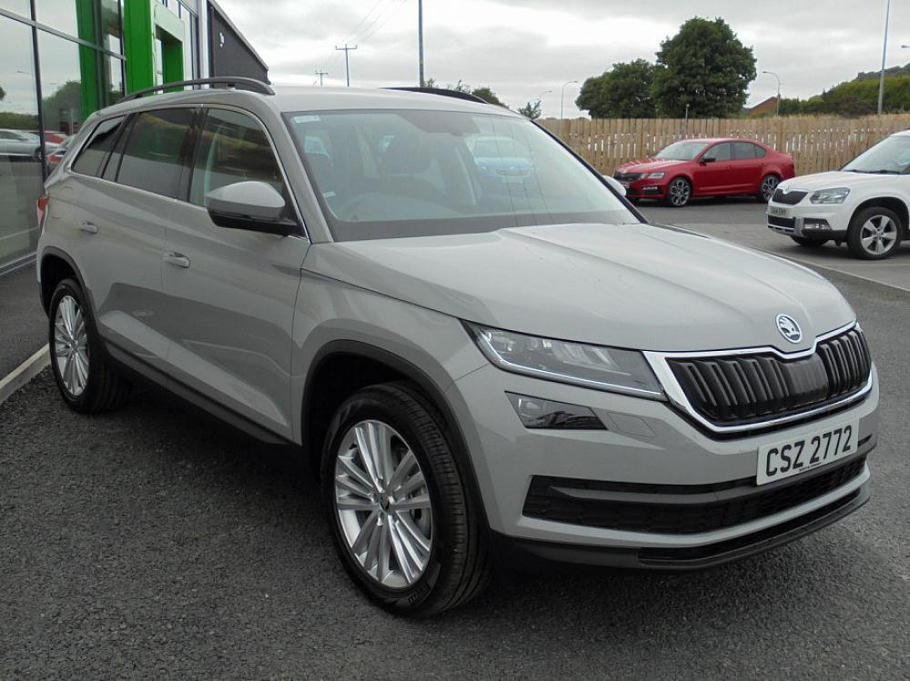 Skoda Kodiaq Sel 7 Seat 2 0 Tdi 150ps 4x4 Dsg For Sale At Mervyn