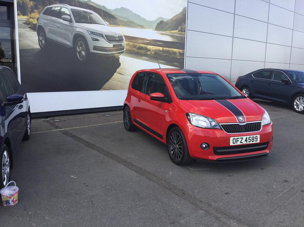 SKODA CITIGO 3 DOOR 1.0 MPI SPORT