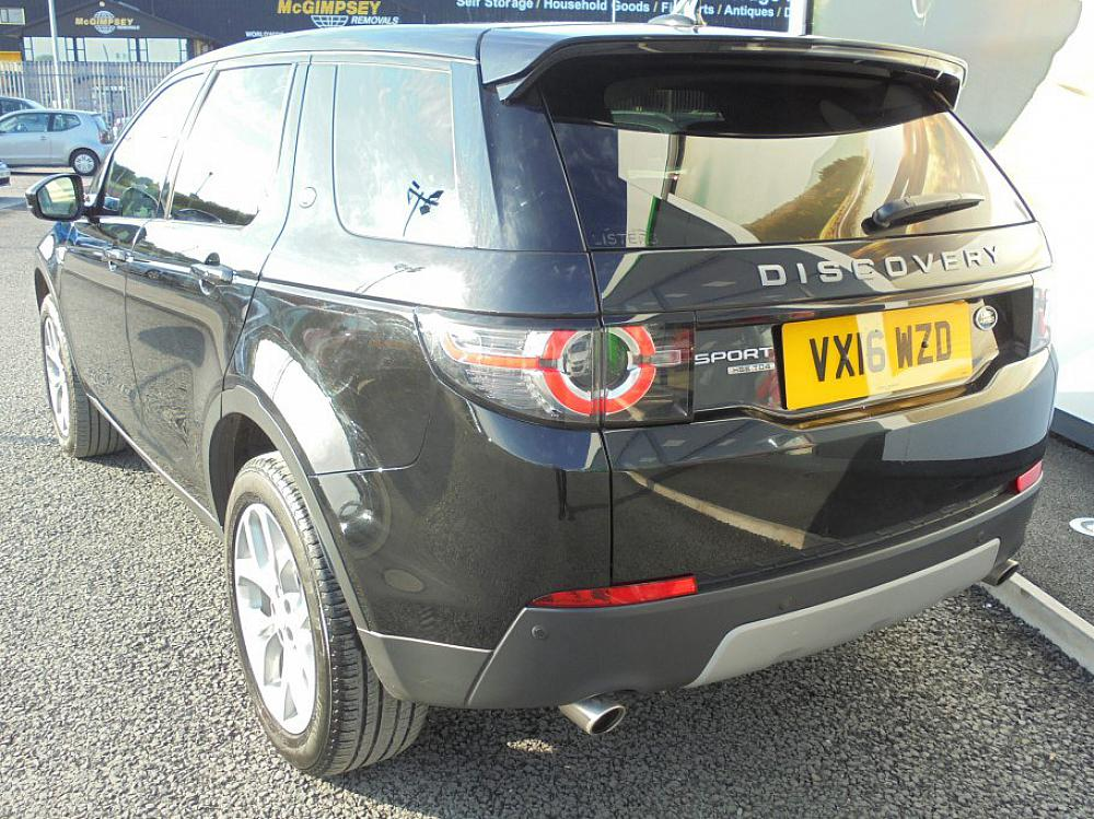 Land Rover Discovery Sport Hse Td4 Automatic 7 Seater For Sale At