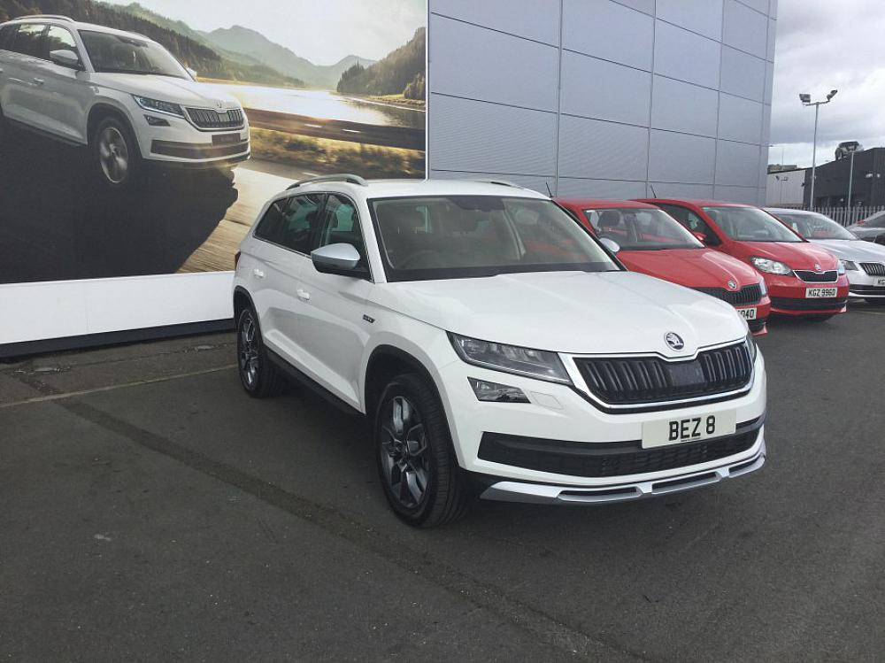 Skoda Kodiaq Scout 7 Seat 2 0tdi 190ps 4x4 Dsg For Sale At Mervyn