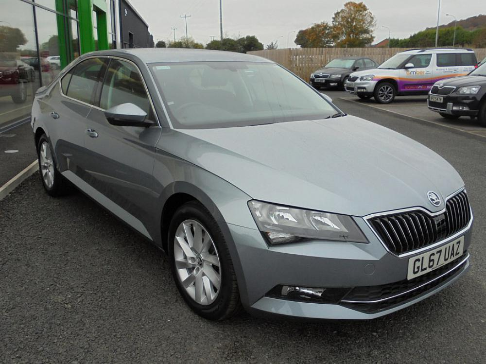 Skoda Superb Se Tdi For Sale At Mervyn Stewart Used Car
