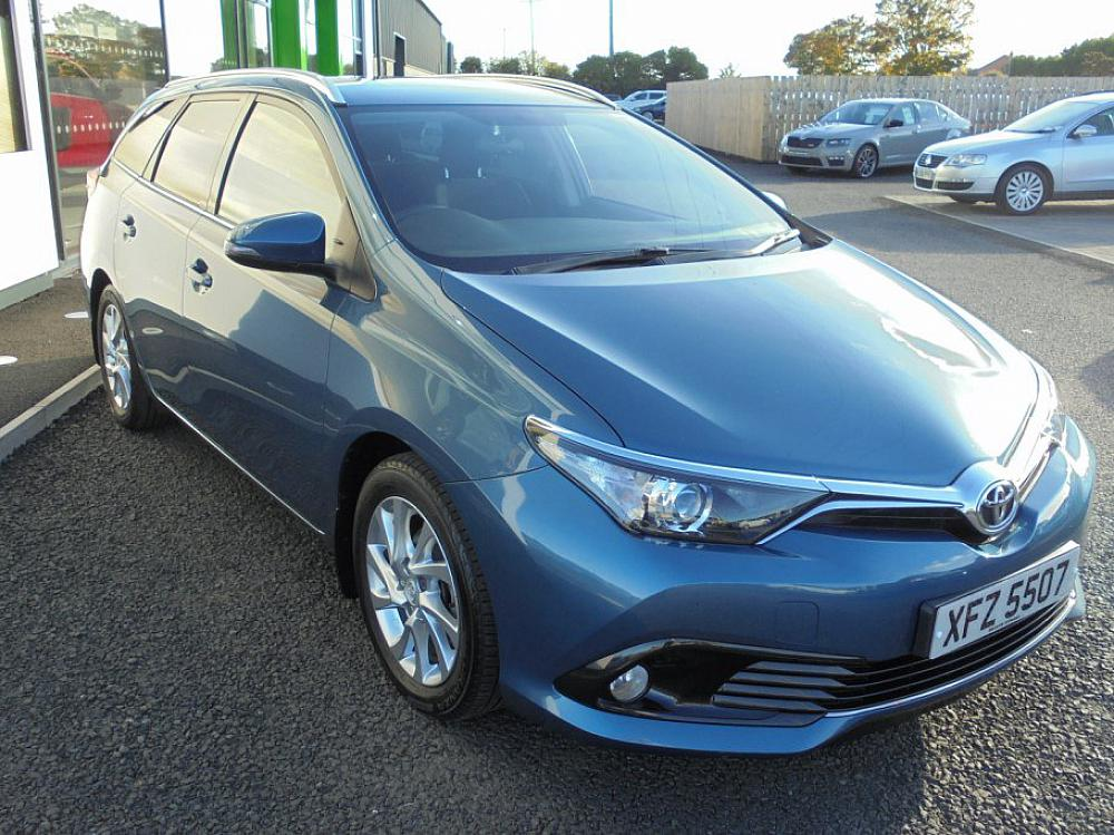 Toyota Auris Business Edition D4d Estate For Sale At Mervyn Stewart