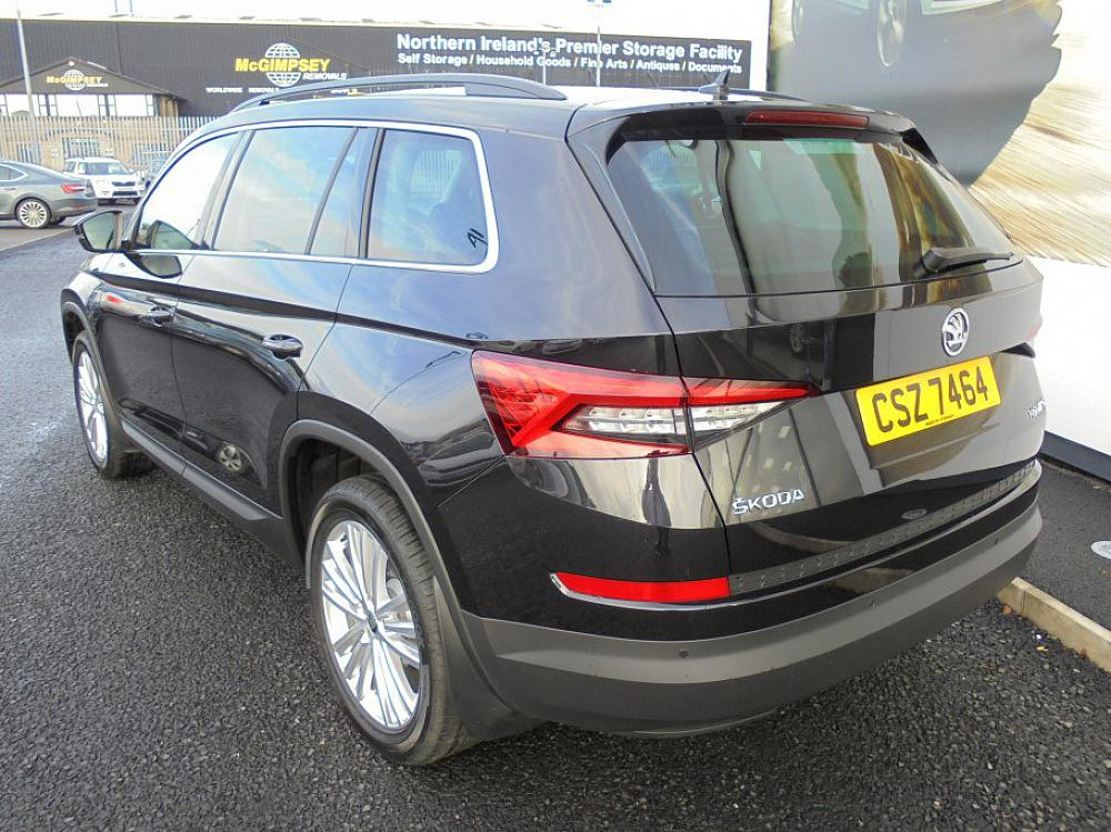 Skoda Kodiaq Sel 7 Seat 2 0 Tdi 150 Dsg For Sale At Mervyn Stewart