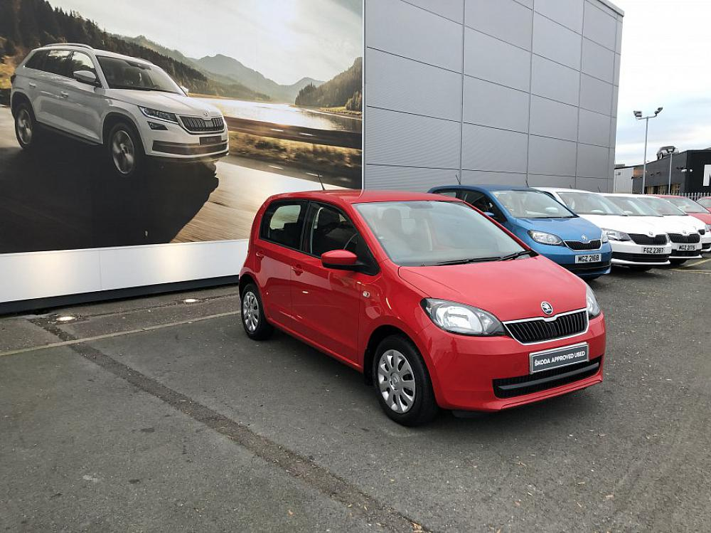 SKODA CITIGO 5 DOOR 1.0 MPI SE 60PS