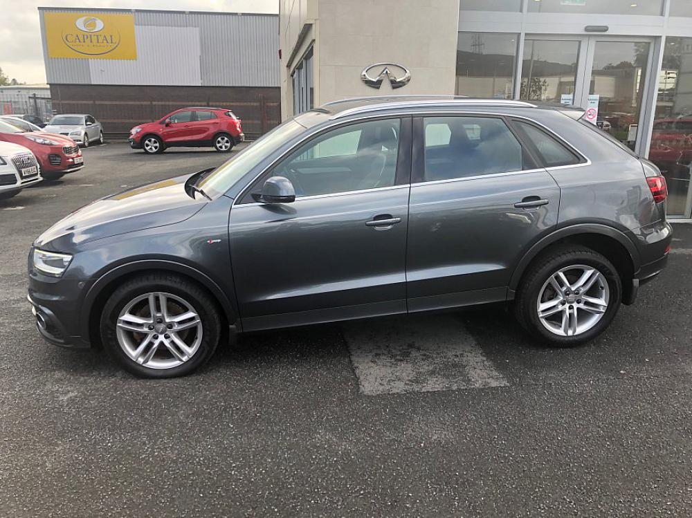 audi q3 2 0 tfsi s line quattro for sale at mervyn stewart. Black Bedroom Furniture Sets. Home Design Ideas