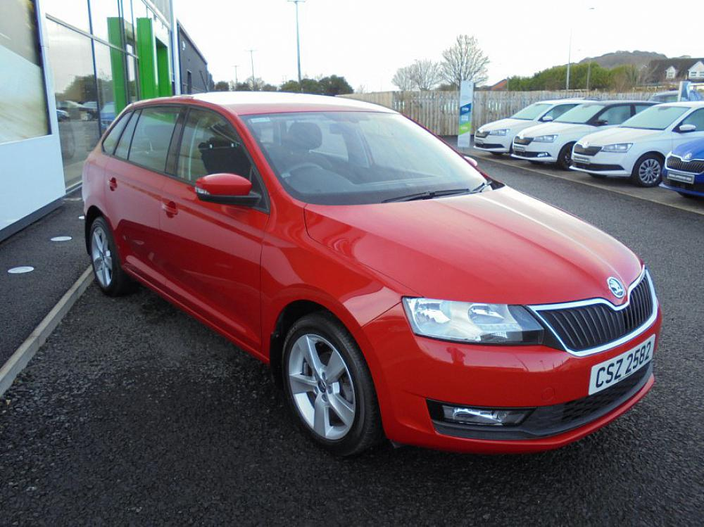 SKODA RAPID SPACEBACK 1.0 SE TECH TSI 95 PS
