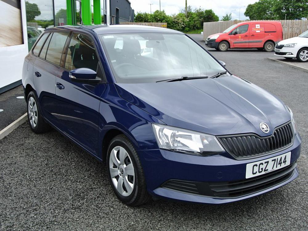 SKODA FABIA ESTATE A6 1.0 S MPI 75PS - 12 MONTH WARRANTY