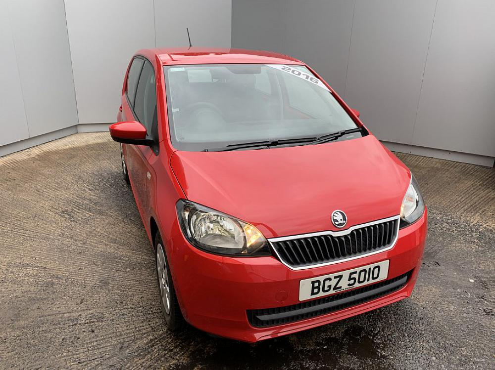 SKODA CITIGO 5 DOOR 1.0 SE 60PS MPI