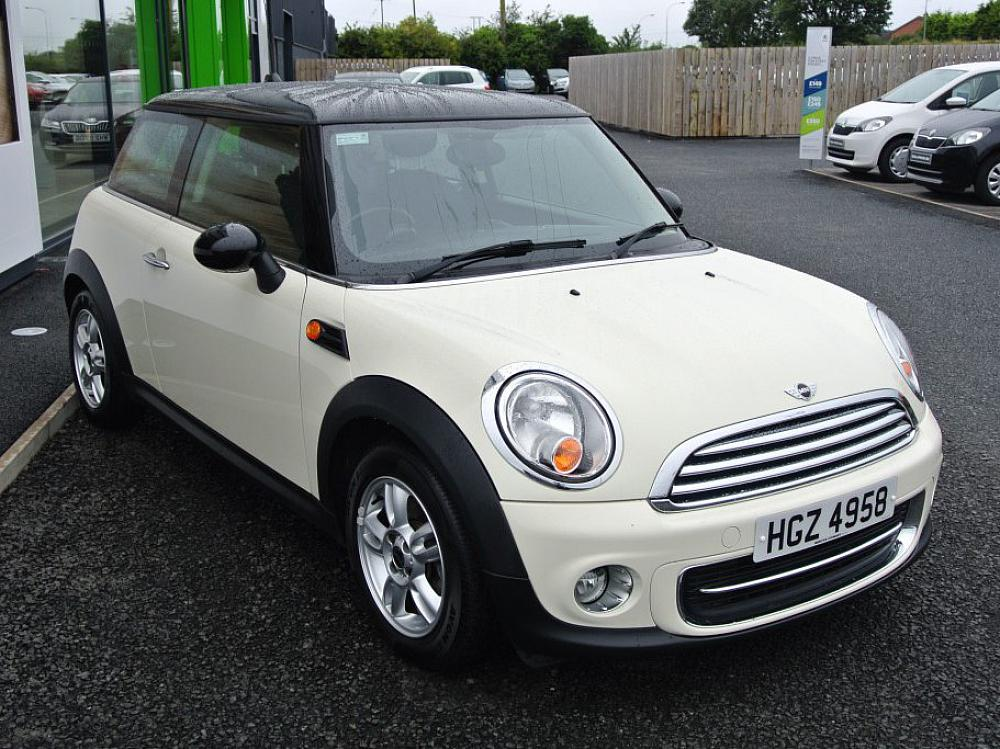 MINI COOPER 1.6 3DR PEPPER PACK