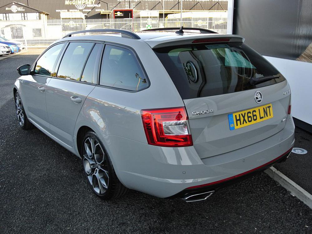 Skoda Octavia Vrs 2 0 Tdi Estate Panoramic Roof For Sale