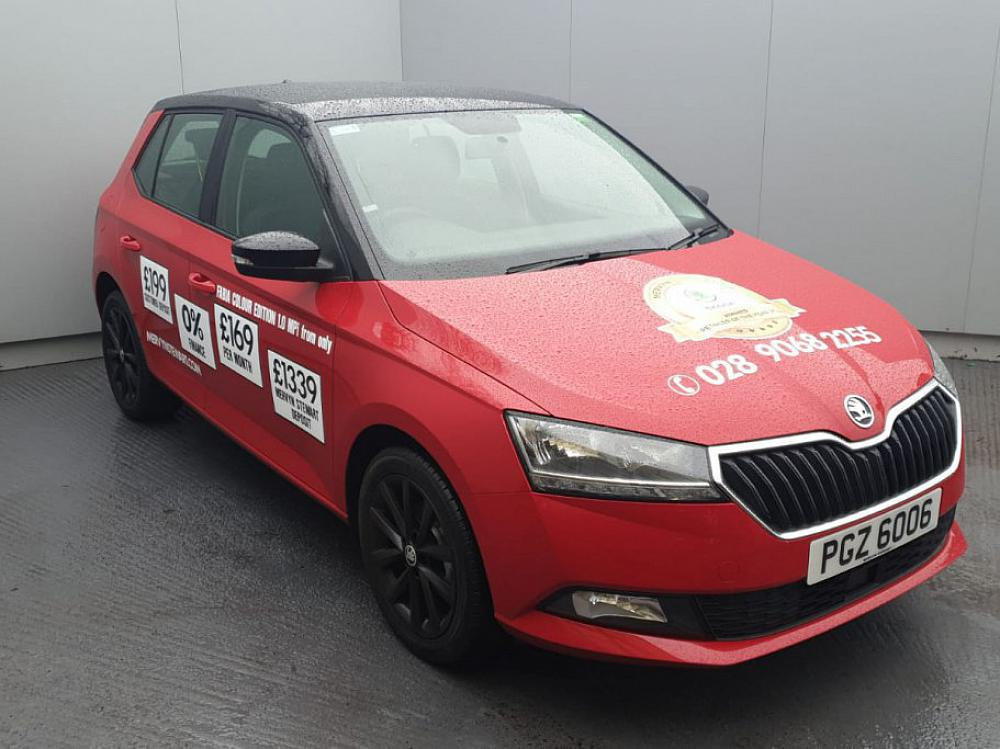SKODA FABIA HATCH COLOUR EDITION 1.0MPI 60PS MAN