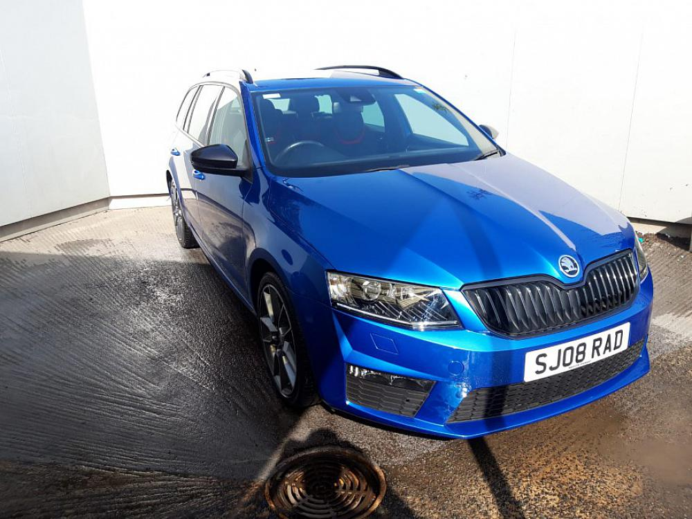 SKODA OCTAVIA ESTATE 2.0 VRS TDI CR 184PS