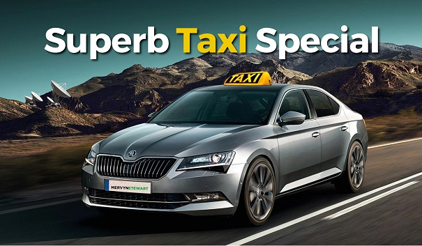Taxi Servicing Offers on Rapid/Octavia/Superb from £129
